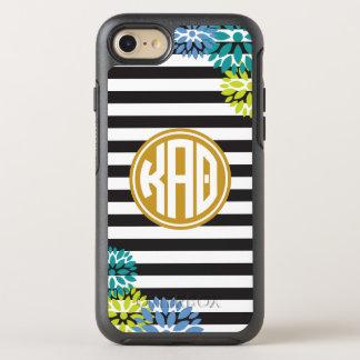Kappa Alpha Theta   Monogram Stripe Pattern OtterBox Symmetry iPhone 7 Case