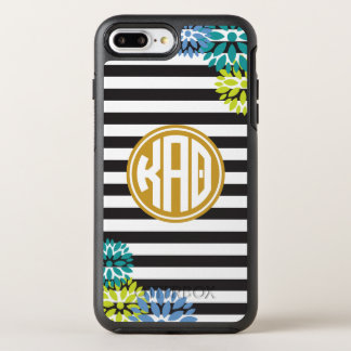 Kappa Alpha Theta | Monogram Stripe Pattern OtterBox Symmetry iPhone 8 Plus/7 Plus Case