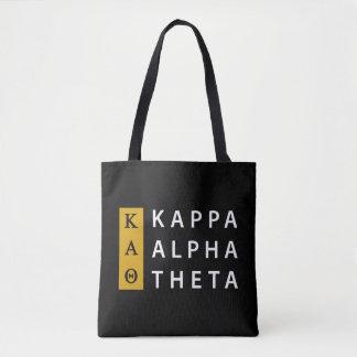 Kappa Alpha Theta | Stacked Logo Tote Bag