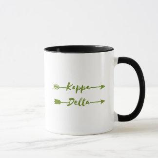 Kappa Delta Arrow Mug