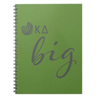 Kappa Delta Big Script Notebook