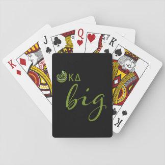 Kappa Delta Big Script Playing Cards