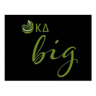 Kappa Delta Big Script Postcard