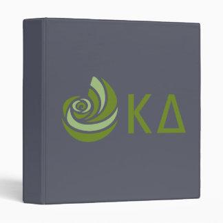 Kappa Delta Lil Big Logo Binder