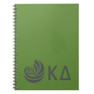 Kappa Delta Lil Big Logo Notebook