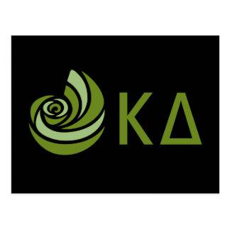 Kappa Delta Lil Big Logo Postcard