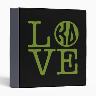 Kappa Delta Love Binder