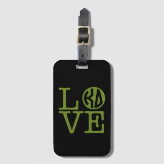 Kappa Delta Love Luggage Tag