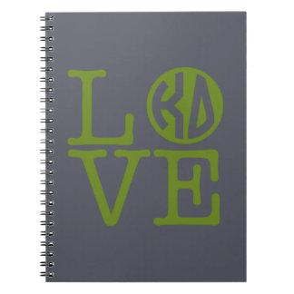 Kappa Delta Love Notebook