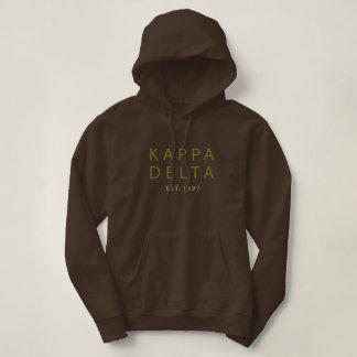 Kappa Delta Modern Type Hoodie