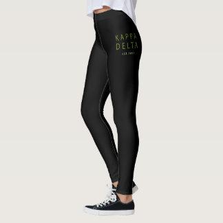 Kappa Delta Modern Type Leggings