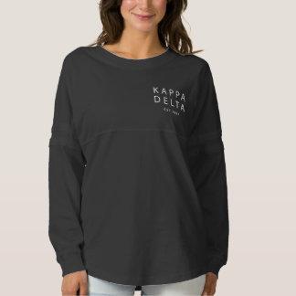 Kappa Delta Modern Type Spirit Jersey