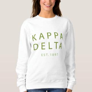 Kappa Delta Modern Type Sweatshirt