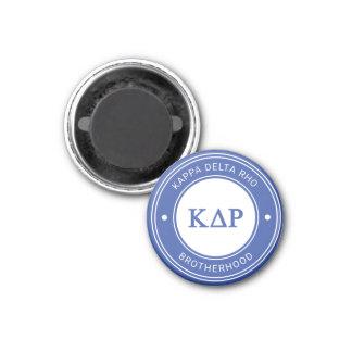 Kappa Delta Rho | Badge Magnet
