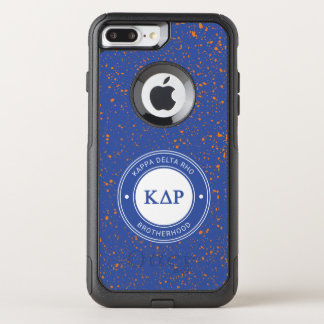 Kappa Delta Rho | Badge OtterBox Commuter iPhone 8 Plus/7 Plus Case