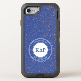 Kappa Delta Rho | Badge OtterBox Defender iPhone 8/7 Case