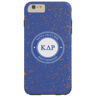 Kappa Delta Rho   Badge Tough iPhone 6 Plus Case