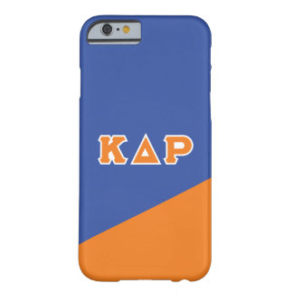 Kappa Delta Rho   Greek Letters Barely There iPhone 6 Case