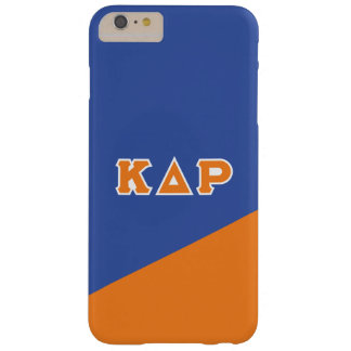 Kappa Delta Rho | Greek Letters Barely There iPhone 6 Plus Case