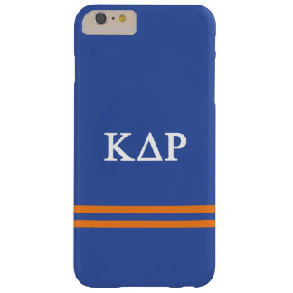 Kappa Delta Rho | Sport Stripe Barely There iPhone 6 Plus Case