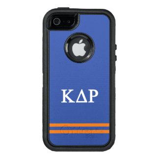 Kappa Delta Rho   Sport Stripe OtterBox iPhone 5/5s/SE Case