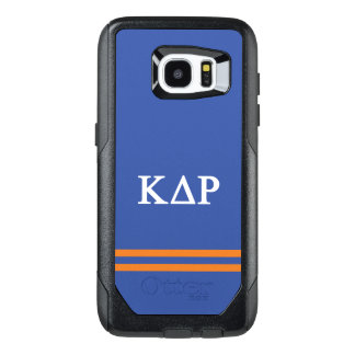Kappa Delta Rho   Sport Stripe OtterBox Samsung Galaxy S7 Edge Case