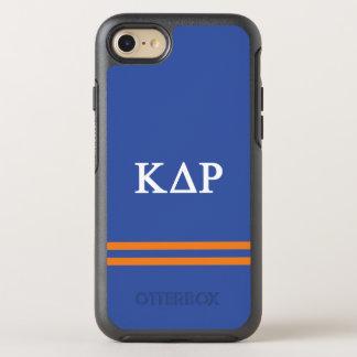 Kappa Delta Rho | Sport Stripe OtterBox Symmetry iPhone 8/7 Case