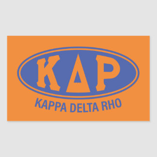 Kappa Delta Rho | Vintage Sticker