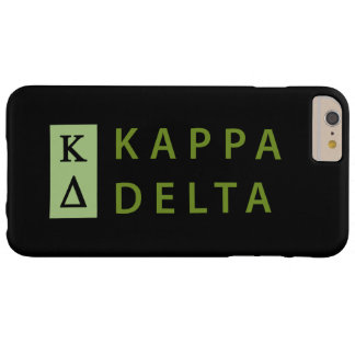 Kappa Delta Stacked Barely There iPhone 6 Plus Case
