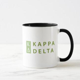 Kappa Delta Stacked Mug