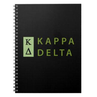 Kappa Delta Stacked Notebook