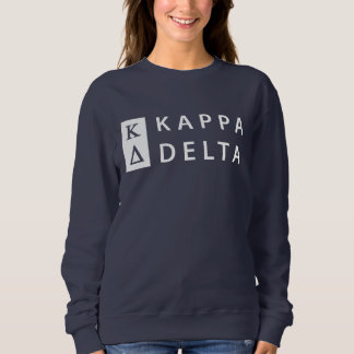 Kappa Delta Stacked Sweatshirt