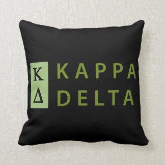 Kappa Delta Stacked Throw Pillow