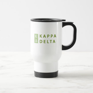Kappa Delta Stacked Travel Mug
