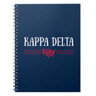 Kappa Delta USA Notebook