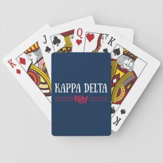 Kappa Delta USA Playing Cards