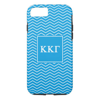 Kappa Kappa Gamma | Chevron Pattern iPhone 7 Case