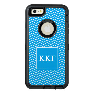 Kappa Kappa Gamma | Chevron Pattern OtterBox Defender iPhone Case