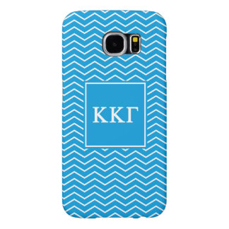 Kappa Kappa Gamma | Chevron Pattern Samsung Galaxy S6 Cases