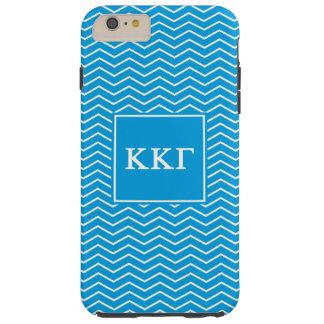 Kappa Kappa Gamma | Chevron Pattern Tough iPhone 6 Plus Case