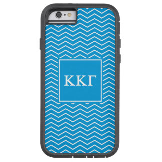 Kappa Kappa Gamma | Chevron Pattern Tough Xtreme iPhone 6 Case