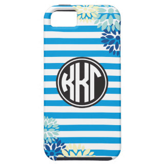 Kappa Kappa Gamma | Monogram Stripe Pattern iPhone 5 Cover