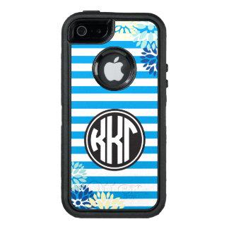 Kappa Kappa Gamma | Monogram Stripe Pattern OtterBox Defender iPhone Case