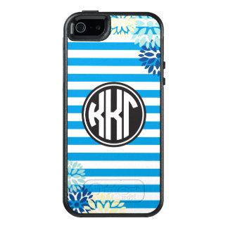 Kappa Kappa Gamma | Monogram Stripe Pattern OtterBox iPhone 5/5s/SE Case