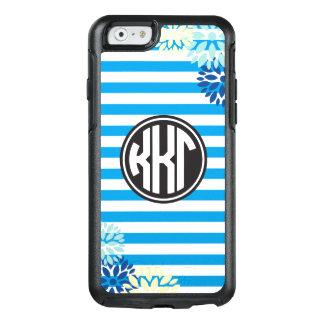 Kappa Kappa Gamma | Monogram Stripe Pattern OtterBox iPhone 6/6s Case