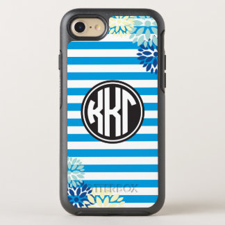 Kappa Kappa Gamma | Monogram Stripe Pattern OtterBox Symmetry iPhone 7 Case