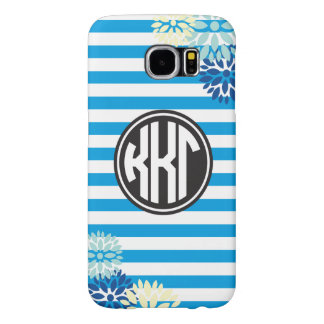 Kappa Kappa Gamma | Monogram Stripe Pattern Samsung Galaxy S6 Cases