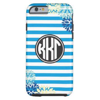 Kappa Kappa Gamma   Monogram Stripe Pattern Tough iPhone 6 Case
