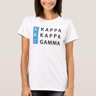 Kappa Kappa Gamma | Stacked Logo T-Shirt