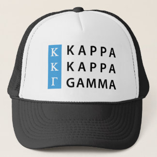 Kappa Kappa Gamma | Stacked Logo Trucker Hat